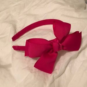 Accessories - Pink bow headband